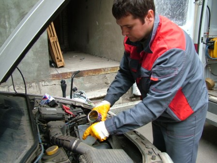 Как правильно промывать двигатель?